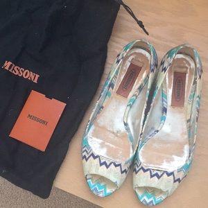 Missoni Flats Size 37